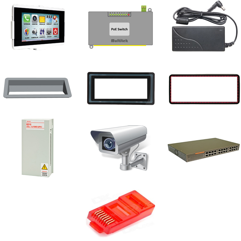 IP Intercom System Accessories