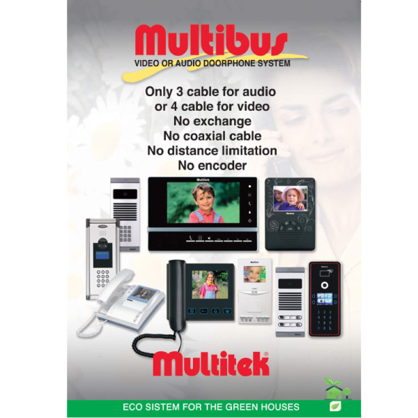 Multibus Intercom System Features